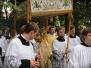 Msza solenna z procesją