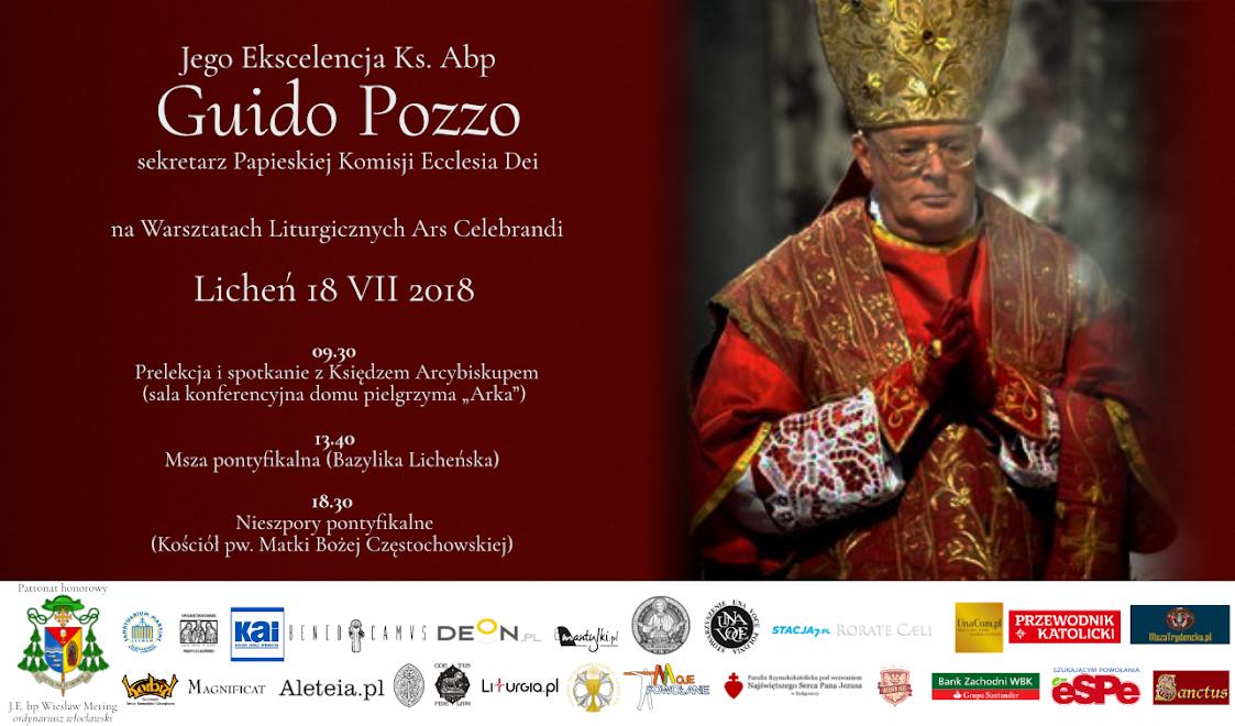 Znalezione obrazy dla zapytania J.E. ks. abp Guido Pozzo
