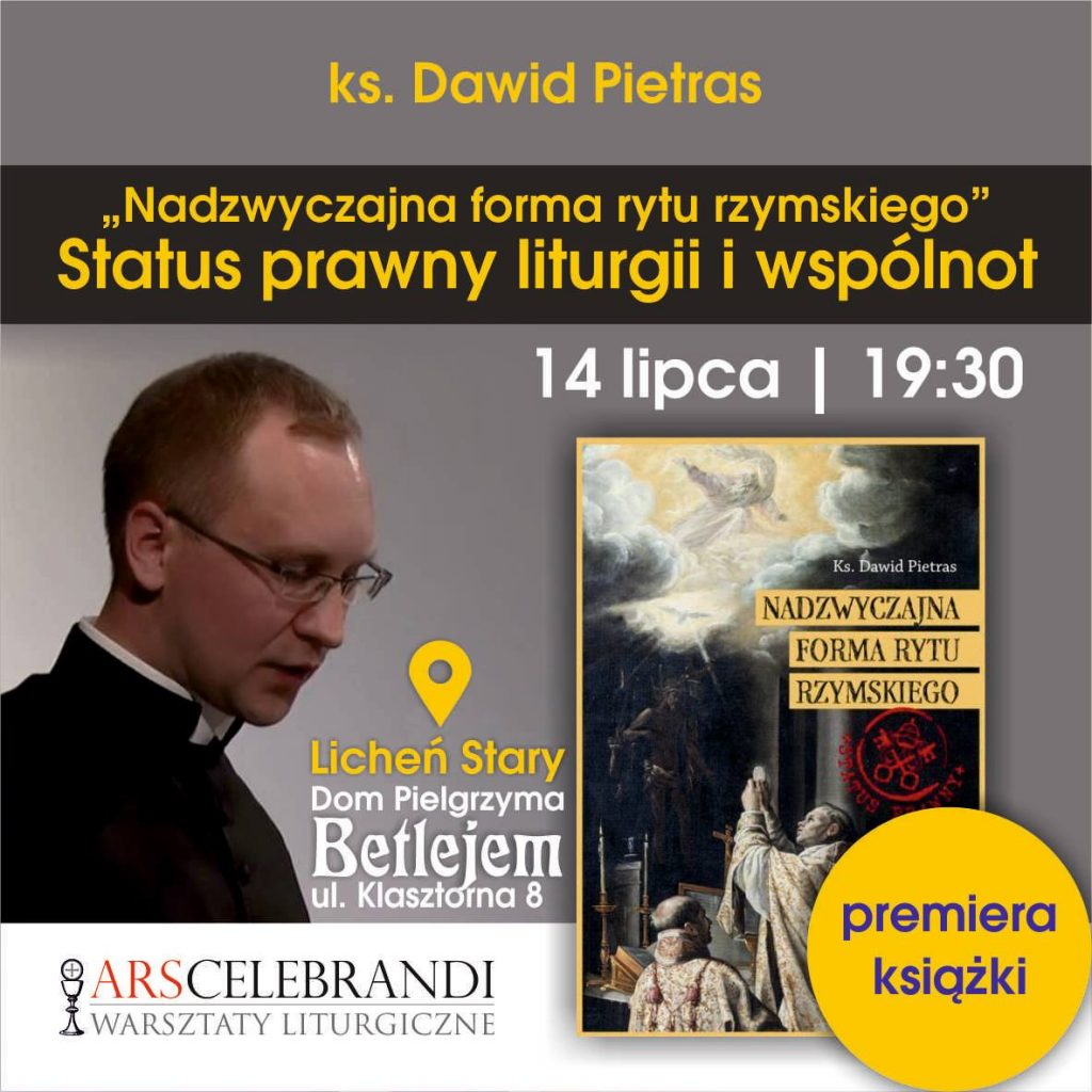 Promocja książki D. Pietrasa Status prawny